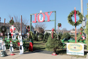 It takes more than 80 volunteers over 2,800 hours to hold the Little Silver Fire Company's Christmas tree sale. The popular sale is a successful fundraiser each year. Photo: Eduardo Pinzion