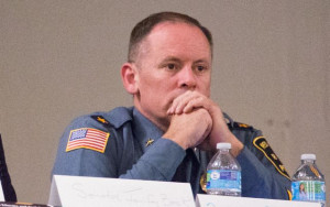 Red Bank Police Chief Darren McConnell