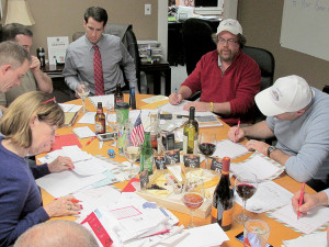 The Red Bank Rotary Club responded to children's letters to Santa Tuesday. Photo: John Burton