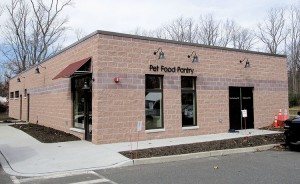 The Monmouth County SPCA'S Pet Pantry in Eatontown. The pantry supplies dog and cat supplies to families in need.