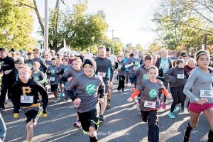 Caption:The annual Shrewsbury 5K Classic, held in the fall, is one of a pair of events the Foundation for Shrewsbury Educationorganizes to help raise money tofund predominantly technology-driven initiatives for the PreK-8 district.