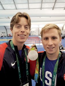 Fair Haven's Connor Jaeger won the silver medal in the 1500 meter men's freestyle in Rio.