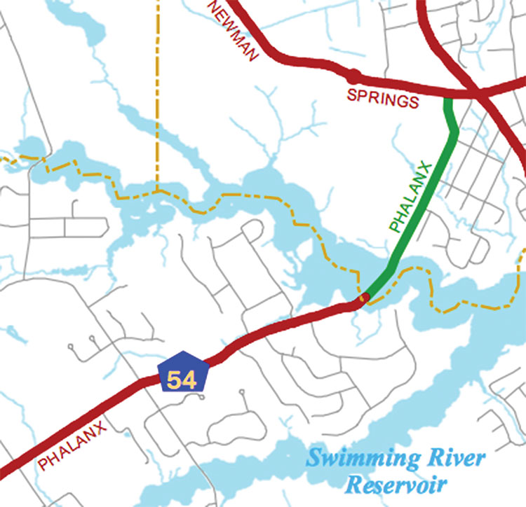 The Two River Times Middletown Mulls Another Roundabout At Brookdale