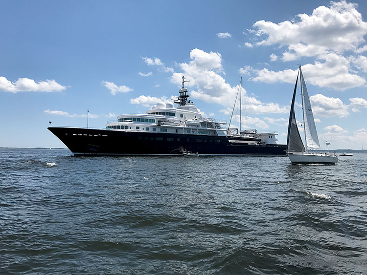 The Two River Times Have You Seen That Mega Yacht Off The Hook