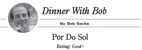 Dinner with Bob POR DO SOL Good+