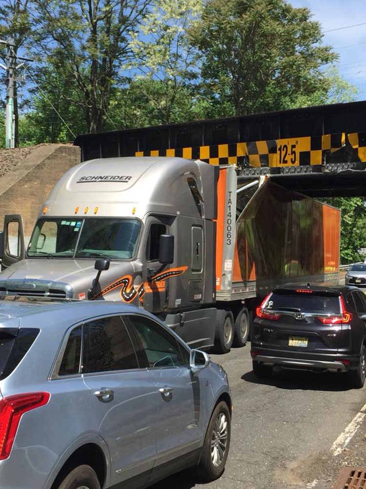 The Two River Times | Bang! Trucks Keep Hitting Overpass