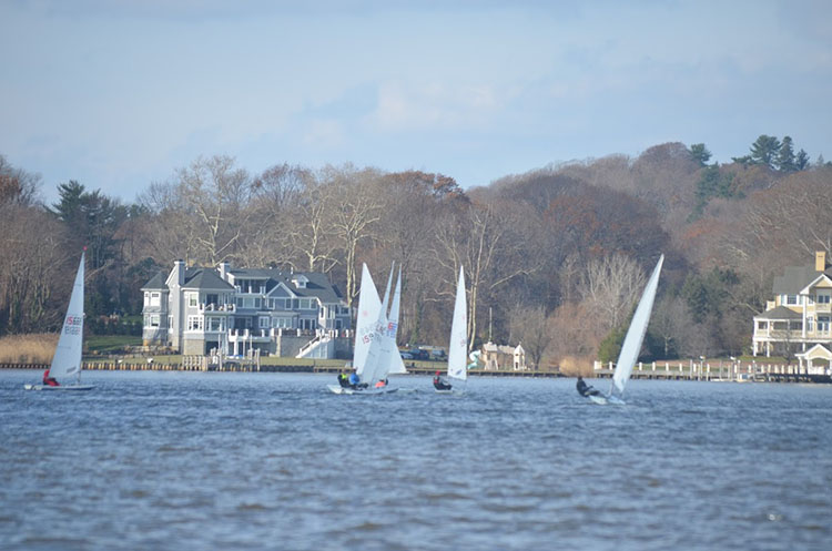 Monmouth Boat Club Frostbite races