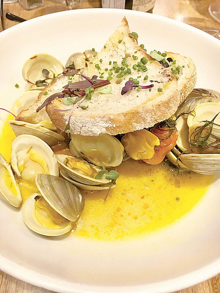 Button clams