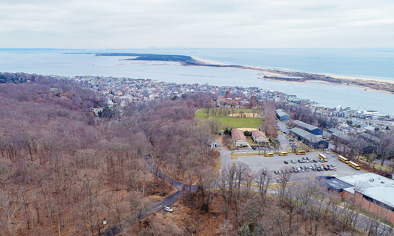 The Monmouth County Park System announced the purchase of more than 14 acres of Henry Hudson Regional High School property for additions to Hartshorne Woods Park and the construction of a walking trail that will connect the historic Battery Lewis with the Twin Lights Museum.