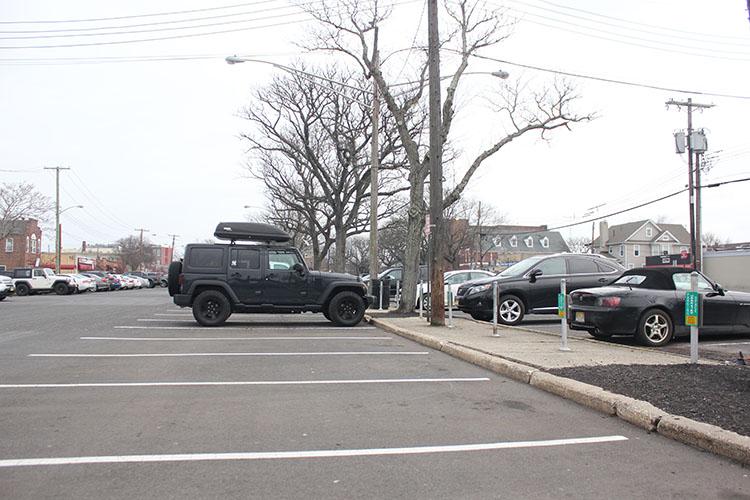 White Street parking lot