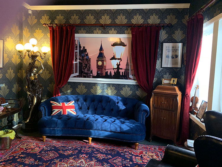 "A new ""escape room"" concept in Neptune has a Sherlock Holmes theme."
